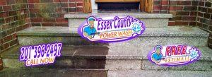 Essex County Power Wash - Steps